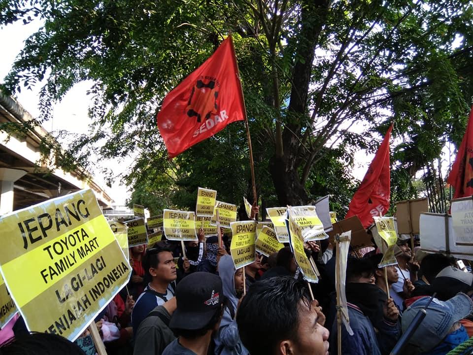 Lawan Penjajahan Modal Jepang, Selamatkan Buruh Indonesia