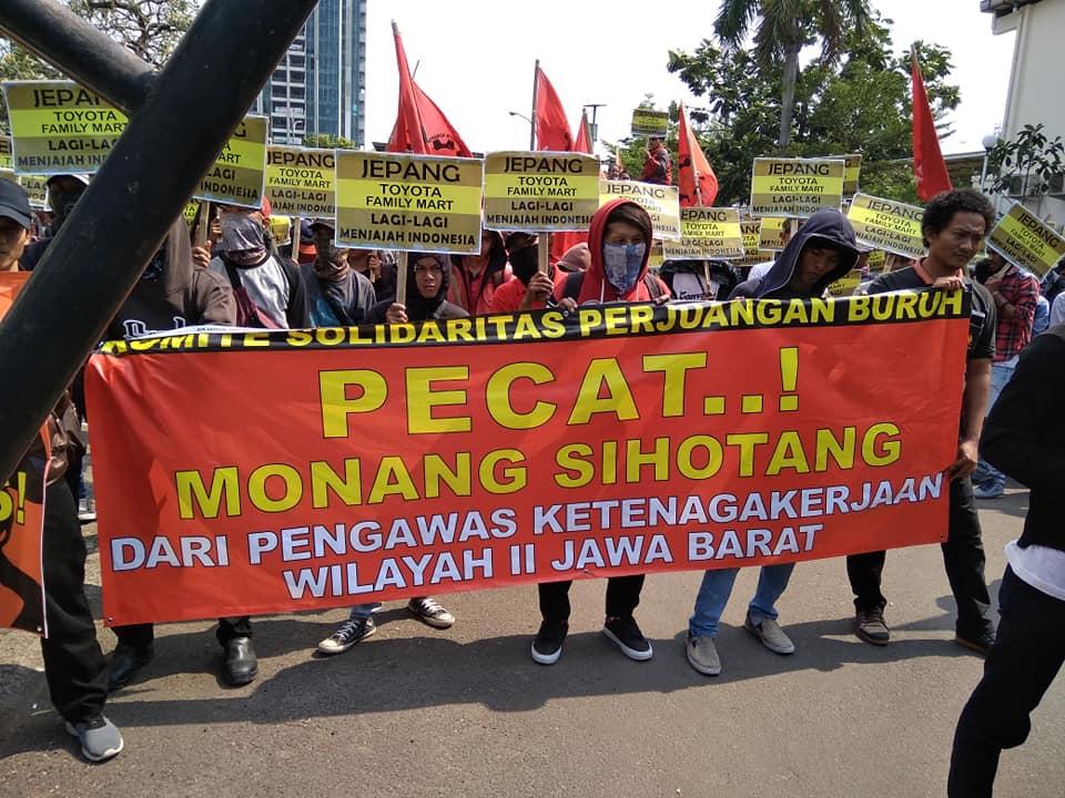 Pernyataan Sikap: Copot Monang Sihotang dari Jabatan Pegawai Pengawas Ketenagakerjaan Wilayah II Jawa Bara