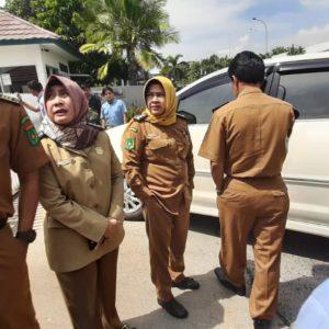 Pengawas Ketenagakerjaan Datangi PT HRS Indonesia, Sekuriti Tutup Pintu Gerbang