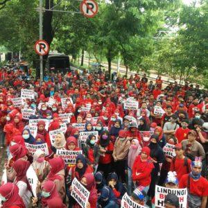 KSPB: Tolak Sanksi terkait Mogok Kerja dan Berikan Kesejahteraan untuk Buruh AICE