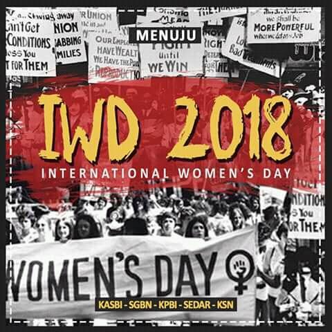 IWD 2018: Pernyataan Bersama