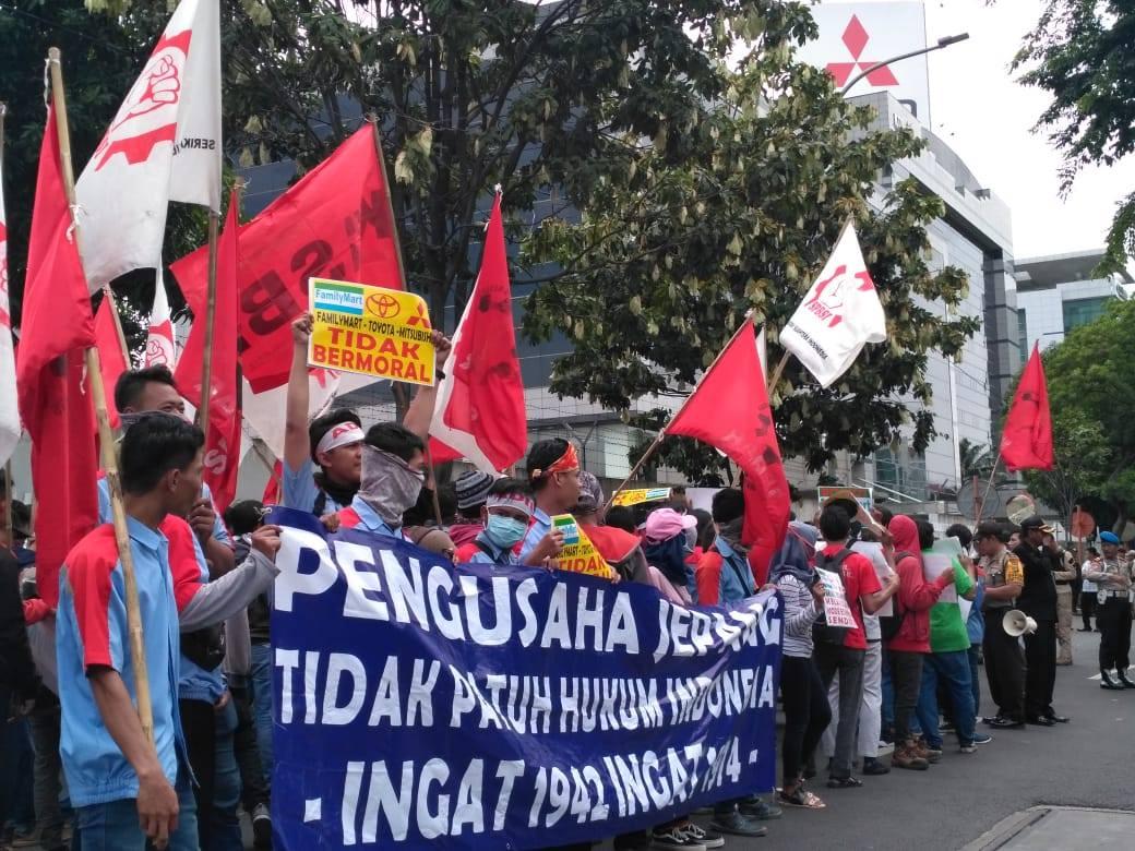 Siaran Pers: Perusahaan Jepang Tidak Patuh Hukum Indonesia