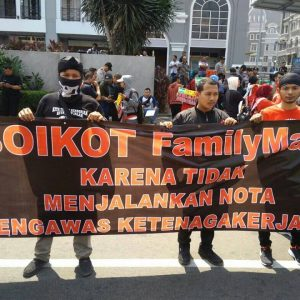 Pernyataan Sikap: BOIKOT FamilyMart!
