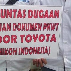 Pernyataan Sikap Mendukung Buruh Kontrak PT Ichikoh Indonesia Memperjuangkan Hak-Haknya atas Kepastian Kerja